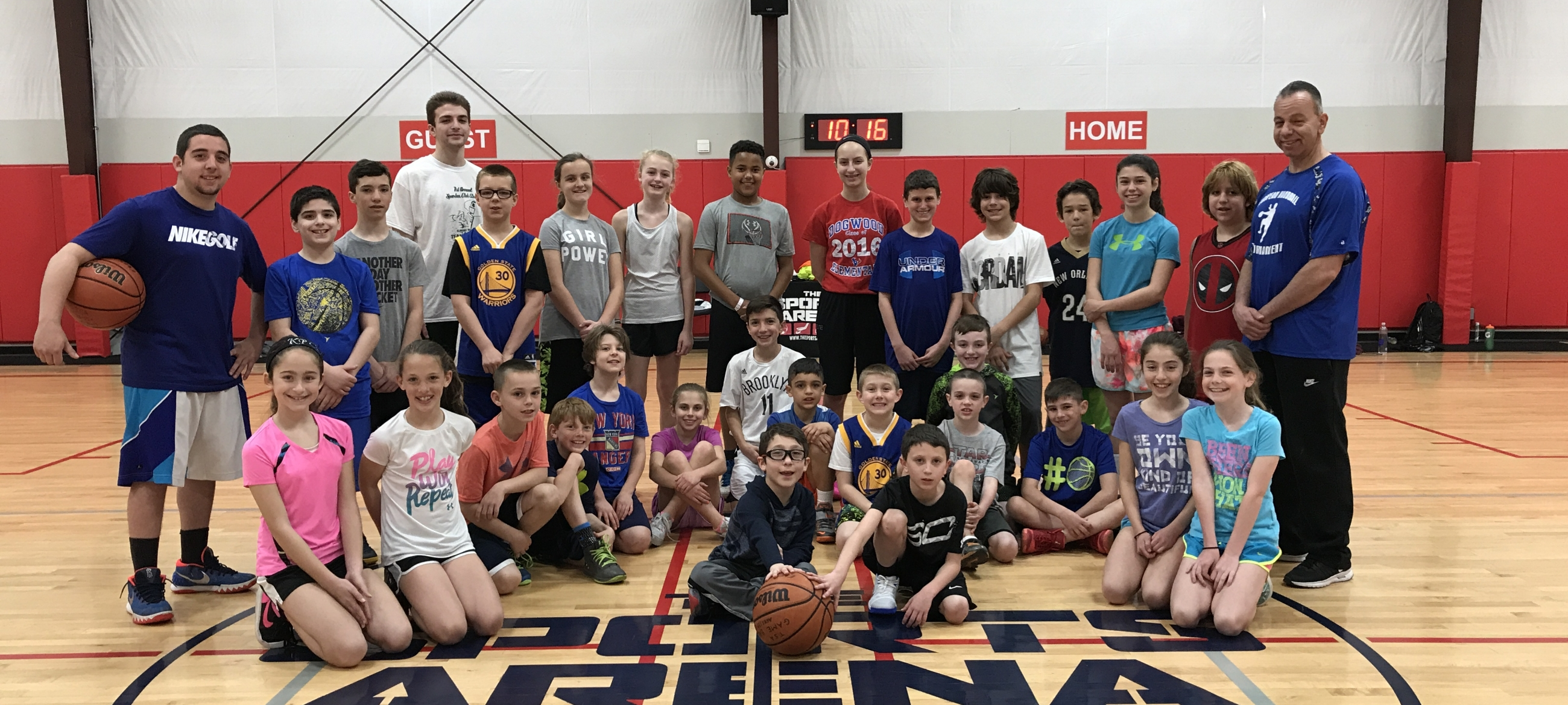 Basketball Camp Long Island Indoor Sports Facility The