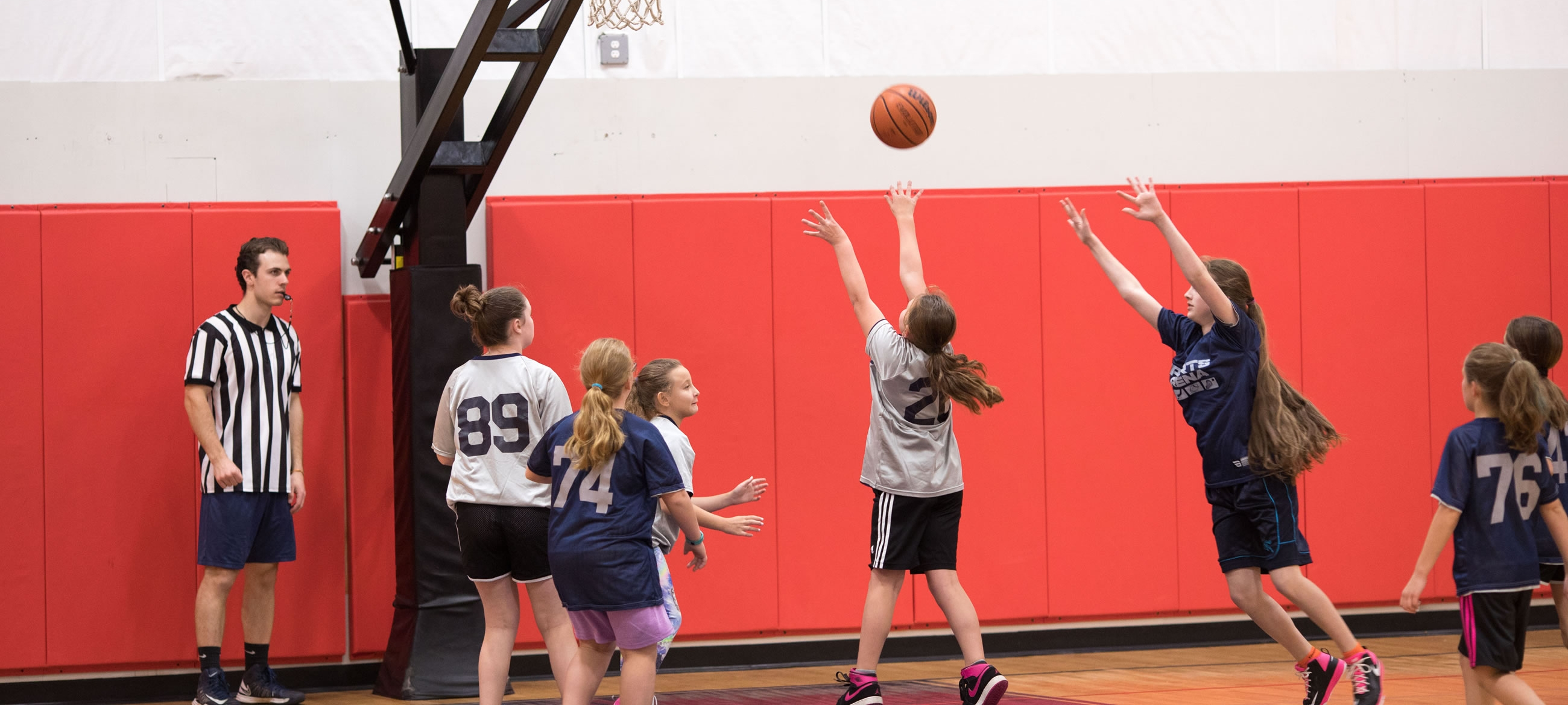 Long Island Indoor Girls Youth Basketball League