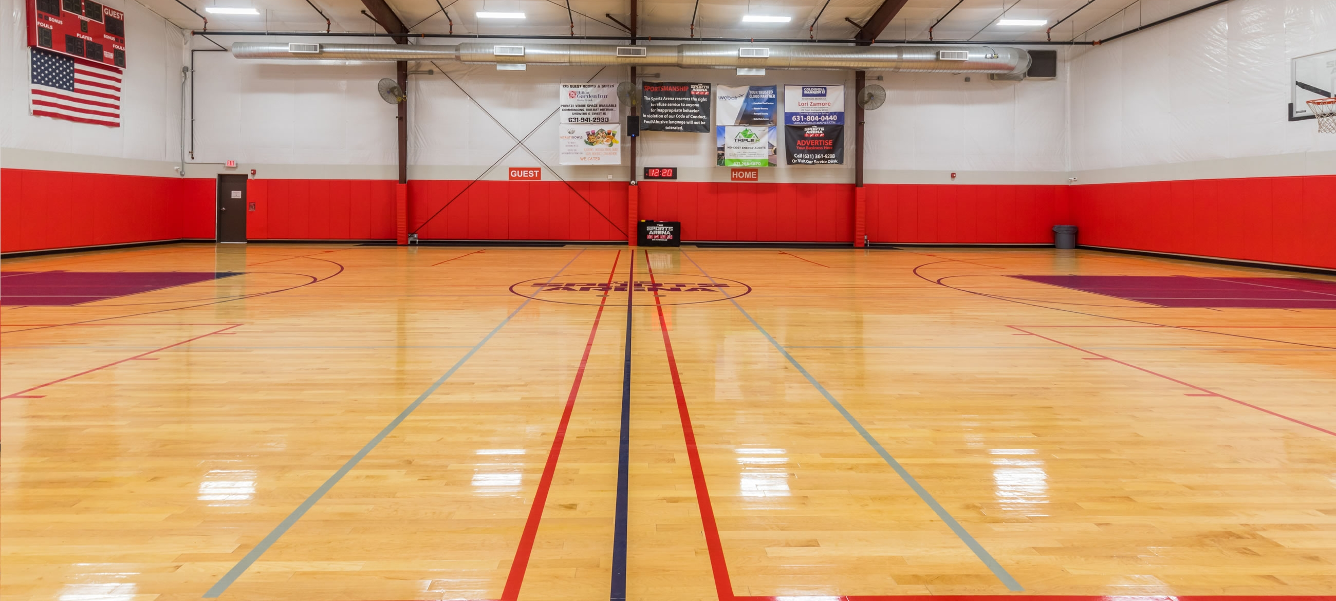 Gymnasium Long Island Indoor Sports Facility The Sports Arena