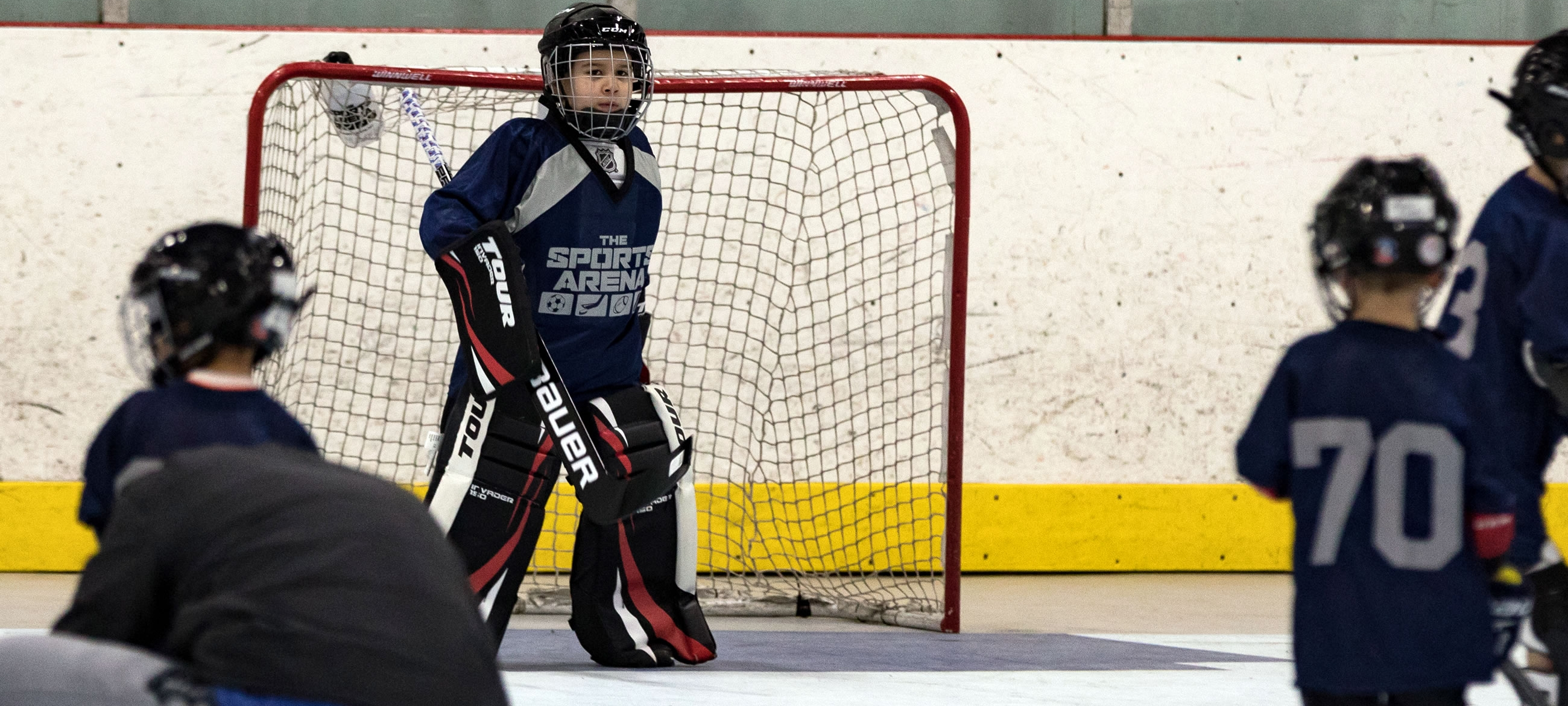 Youth Dek Hockey Training