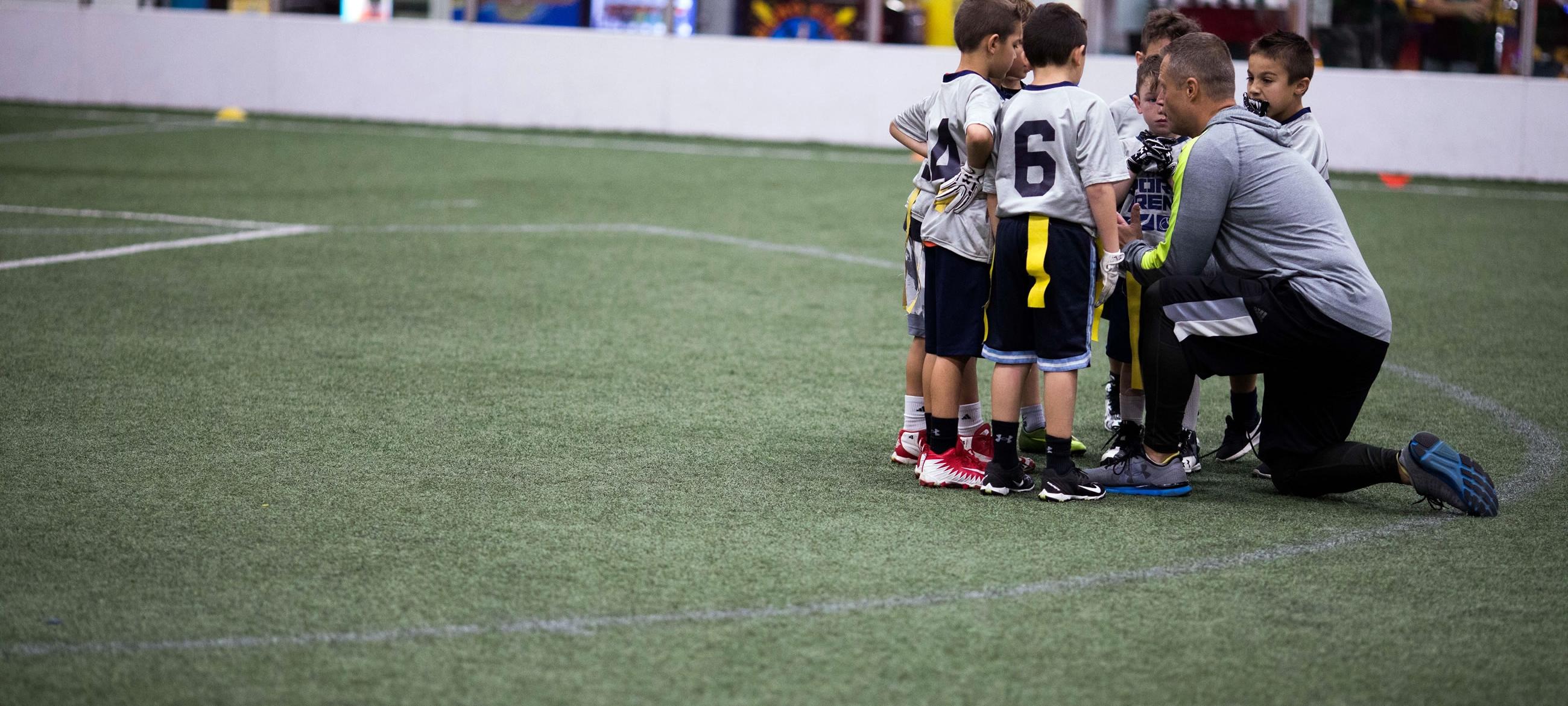 Youth Flag Football League Long Island Indoor Sports